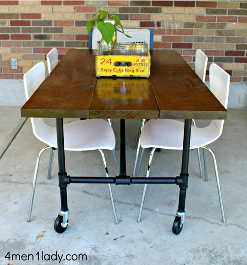 Build Industrial Coffee Table: Make A DIY Industrial Coffee Table Today... YES YOU CAN