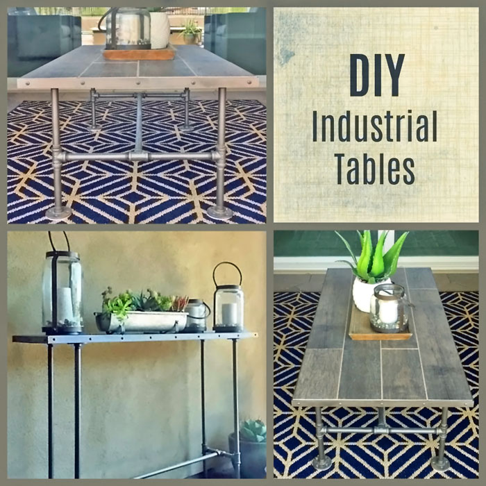 Industrial Coffee Table Diy: Make A DIY Industrial Coffee Table Today... YES YOU CAN