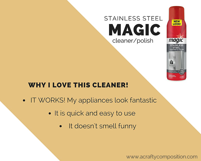 Why I love Magic Stainless Steel Cleaner