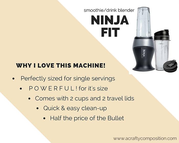 Why I love the Ninja Fit