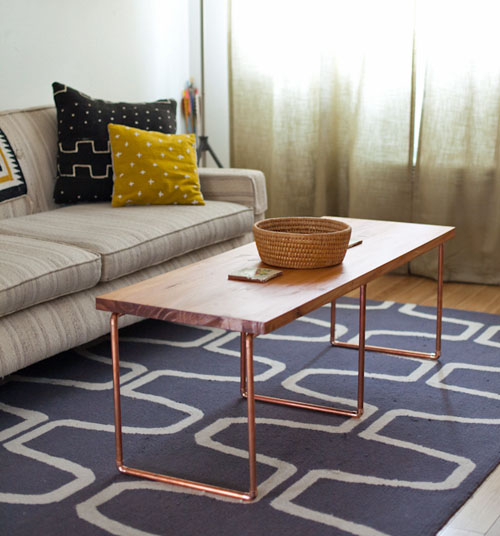 Black Pipe Coffee Table Diy: Make A DIY Industrial Coffee Table Today... YES YOU CAN