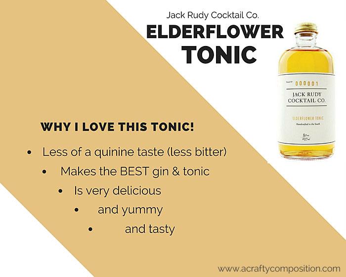 Why I love Jack Ruby Elderflower Tonic