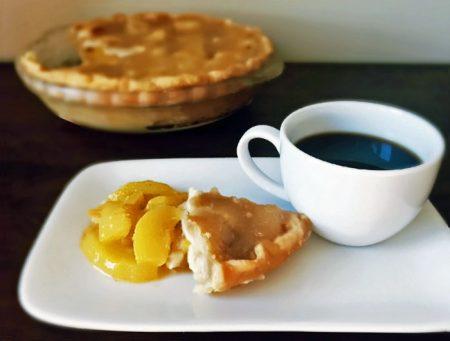 Peach Pie and Coffee