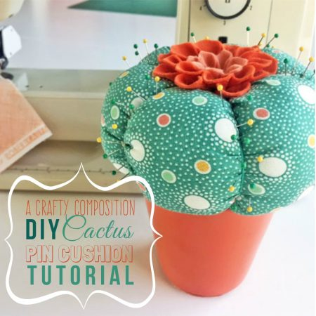 DIY Cactus Pin Cushion Feature