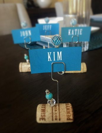 Place Holder in Turquoise