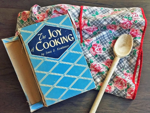 Old Joy of Cooking Book