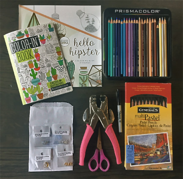 Shrinky Dink Charm Making Supplies