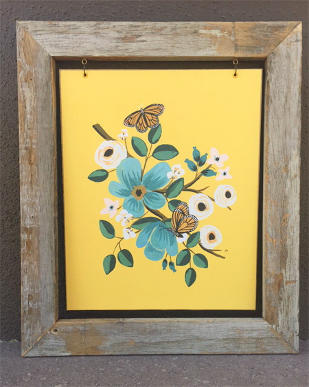 Two Clever Solutions To Frame Odd Sized Prints • A Crafty Composition