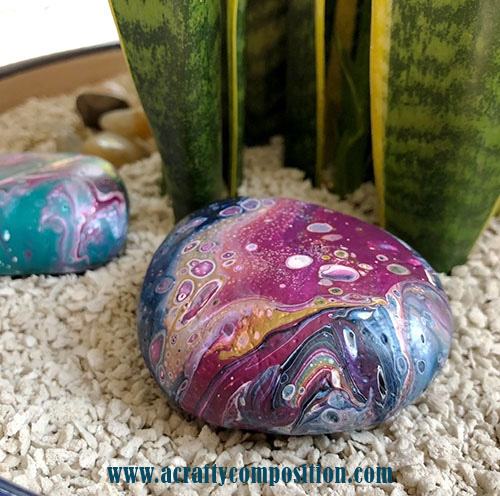 Three Easy Steps To Creating Gorgeous Art Rocks A Crafty Composition